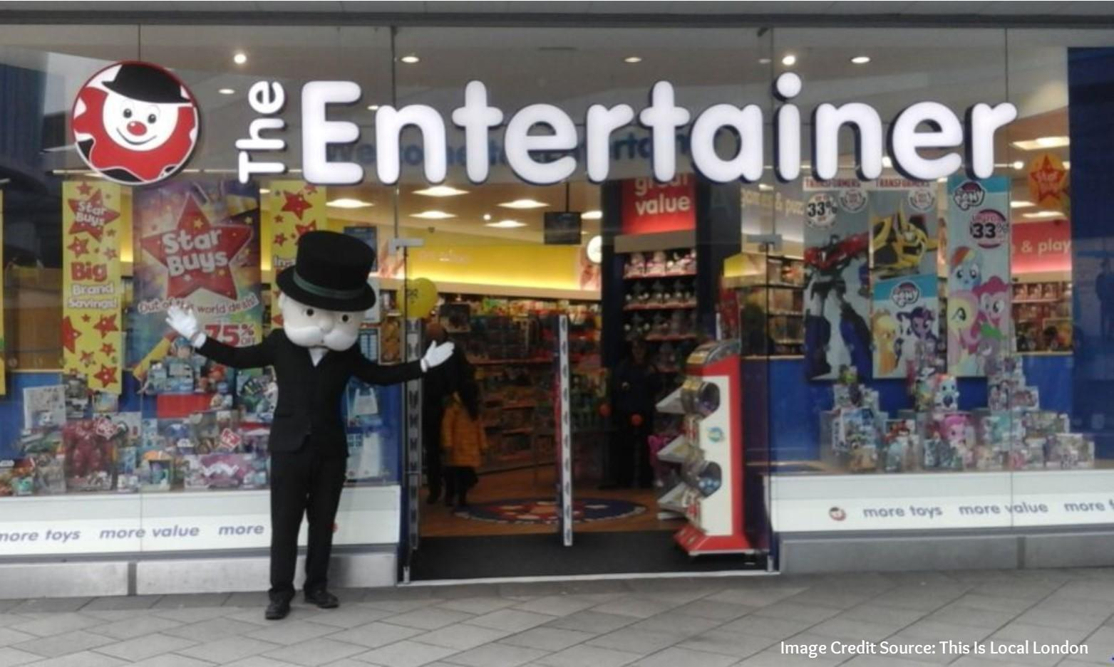 Meet Mr Monopoly at The Entertainer Port Talbot
