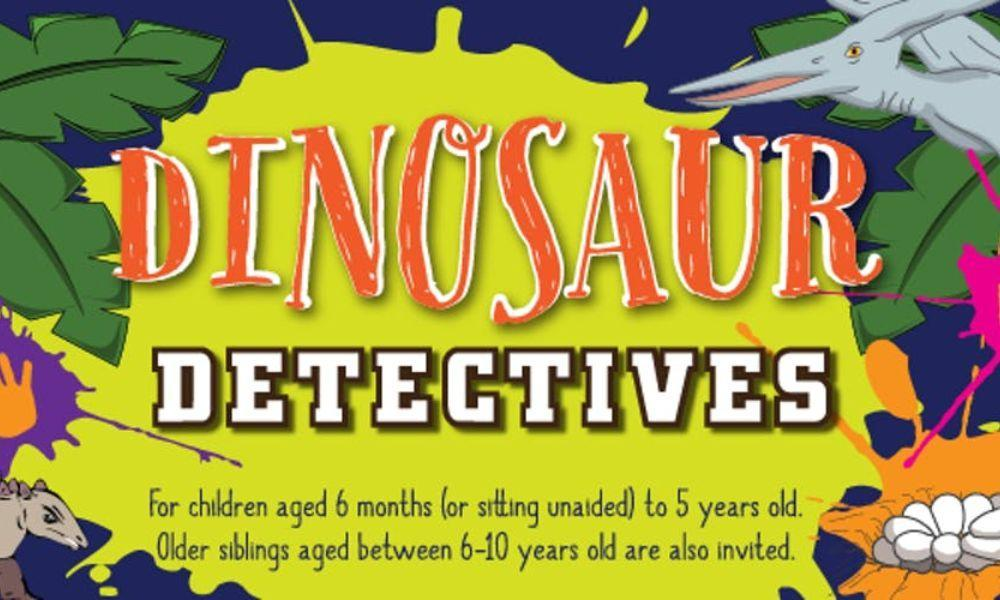 Messy Play Port Talbot – Dinosaur Detectives