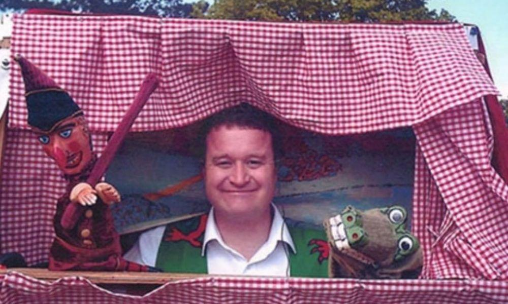 Punch and Judy Show at Gnoll Park