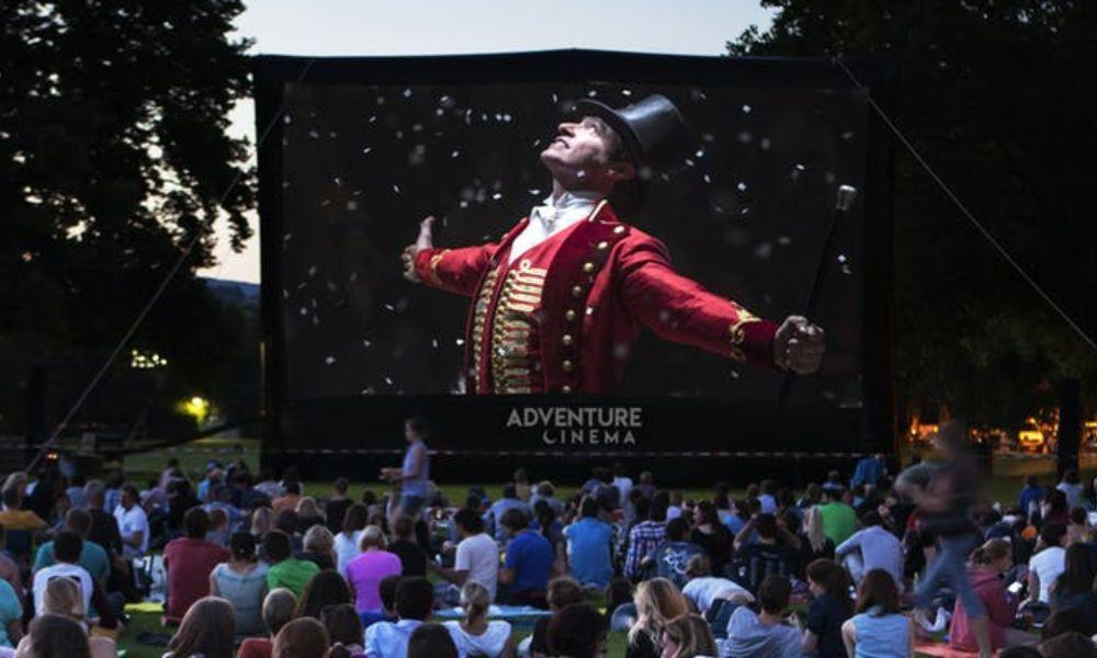 Greatest Showman Outdoor Cinema Sing-A-Long at National Botanic Gardens