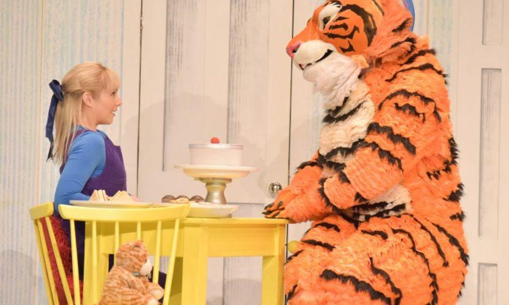 The Tiger Who Came to Tea In Port Talbot