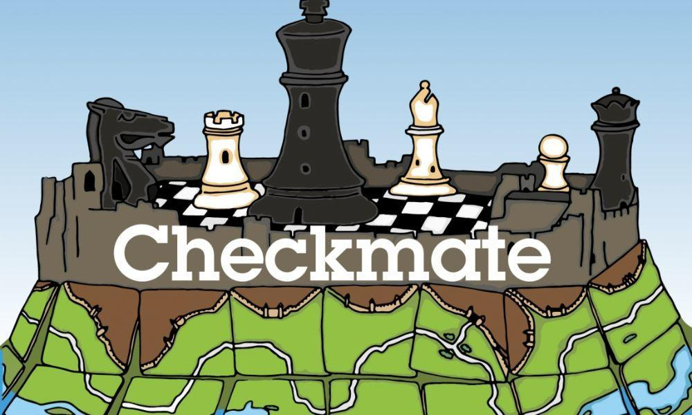 Checkmate Board Game Takeover at Pembroke Castle