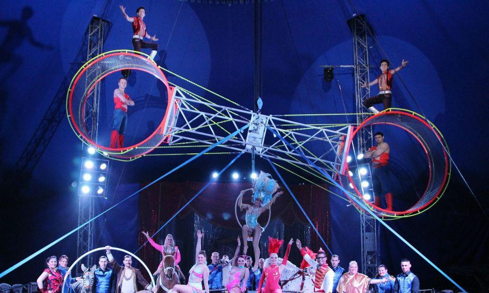 Circus Mondao in Cardigan