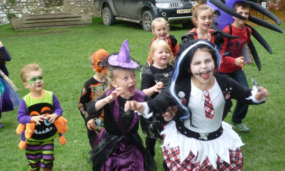 Family Friendly Halloween Ghost Tour at Carew Castle