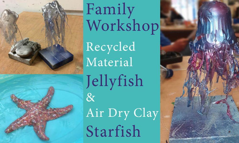 Family Fun Art Workshop in Haverfordwest