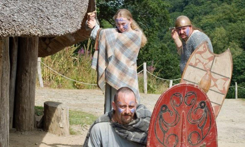 Fighting and Feasting at Castell Henllys Iron Age Village