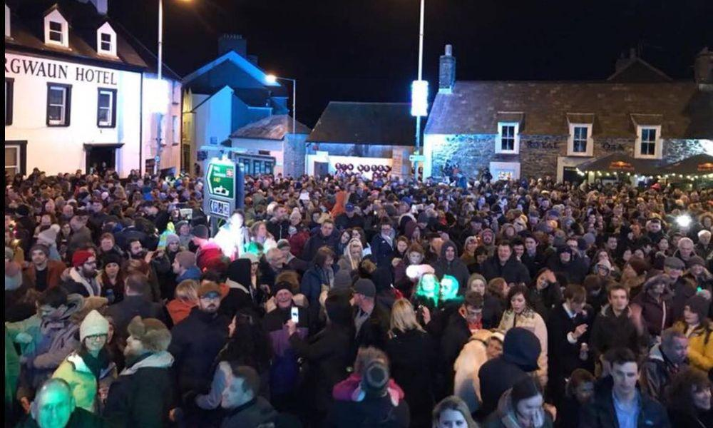 Fishguard's New Year's Eve Street Party