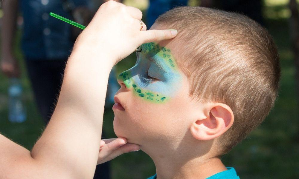 Free Face Painting at Milford Waterfront