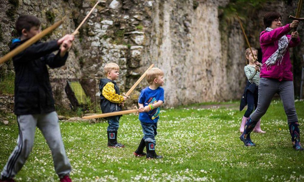 Knight School and Have-a-go Archery at Carew Castle