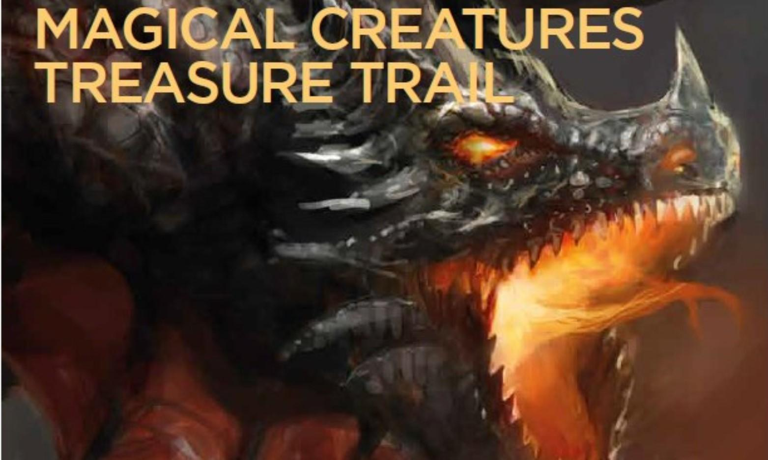 Magical Creatures Treasure Trail at Carew Castle