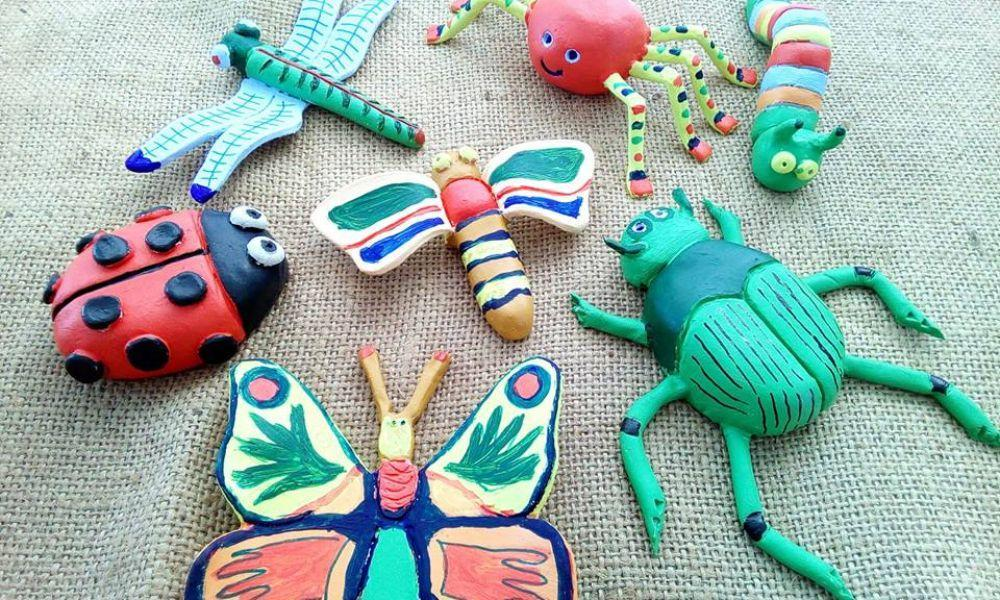 Make your own clay bug workshop