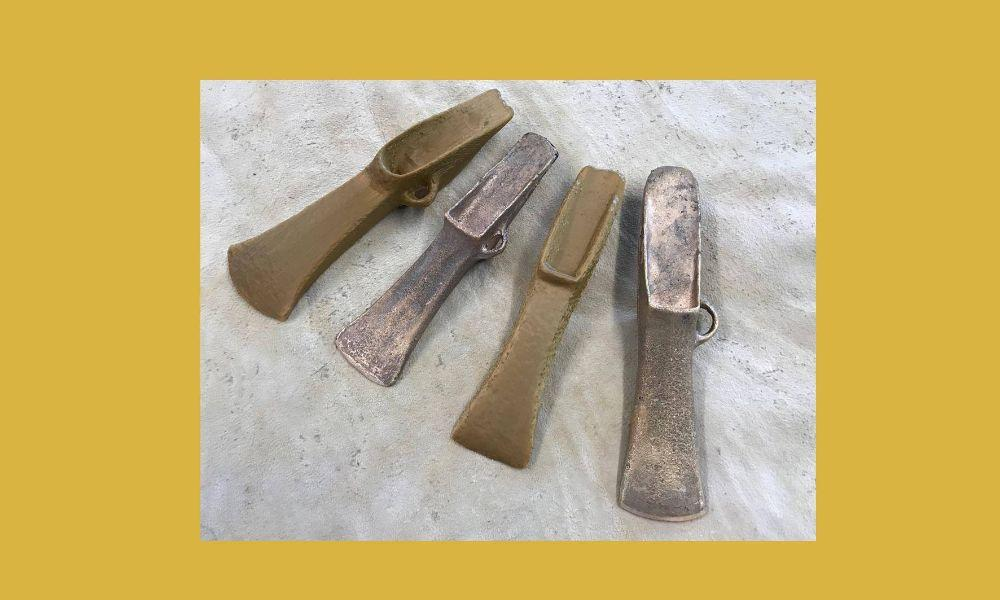 Palstave Axe Head Workshop at Castell Henllys Iron Age Village