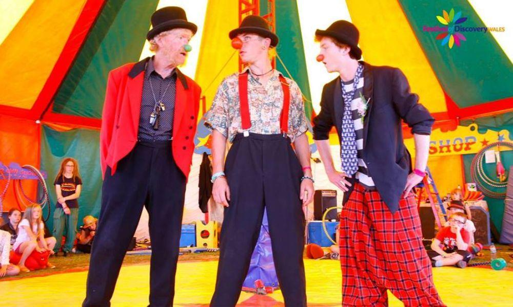 Panic Circus Comes to Haverfordwest