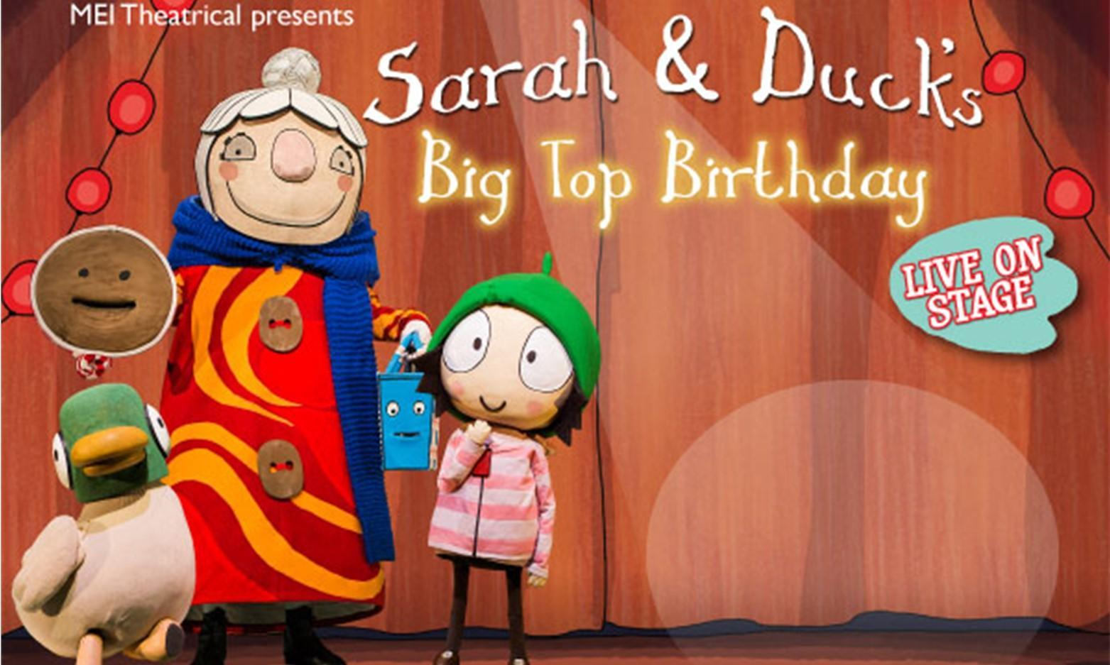 Sarah and Duck Live on Stage in Milford Haven