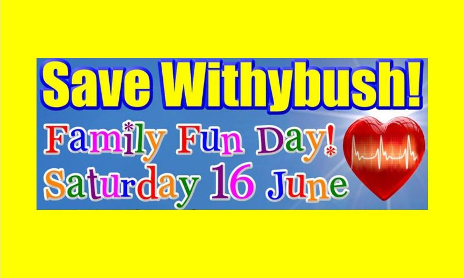 Save Withybush Family Fun Day and March