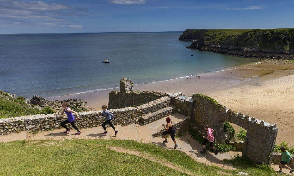 Stackpole Striders Fun run