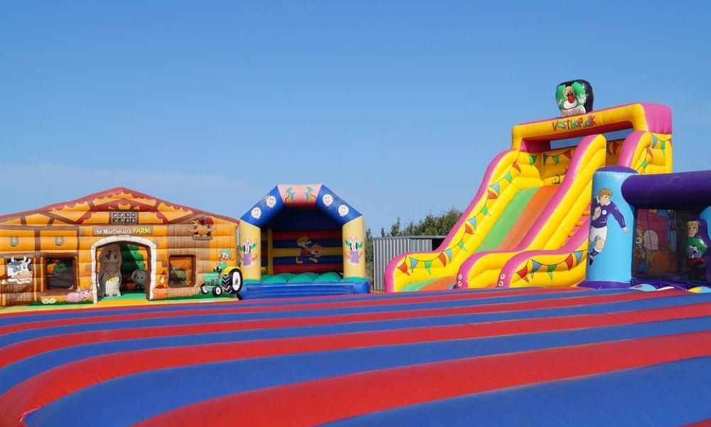 Tenby Inflatable Play Day