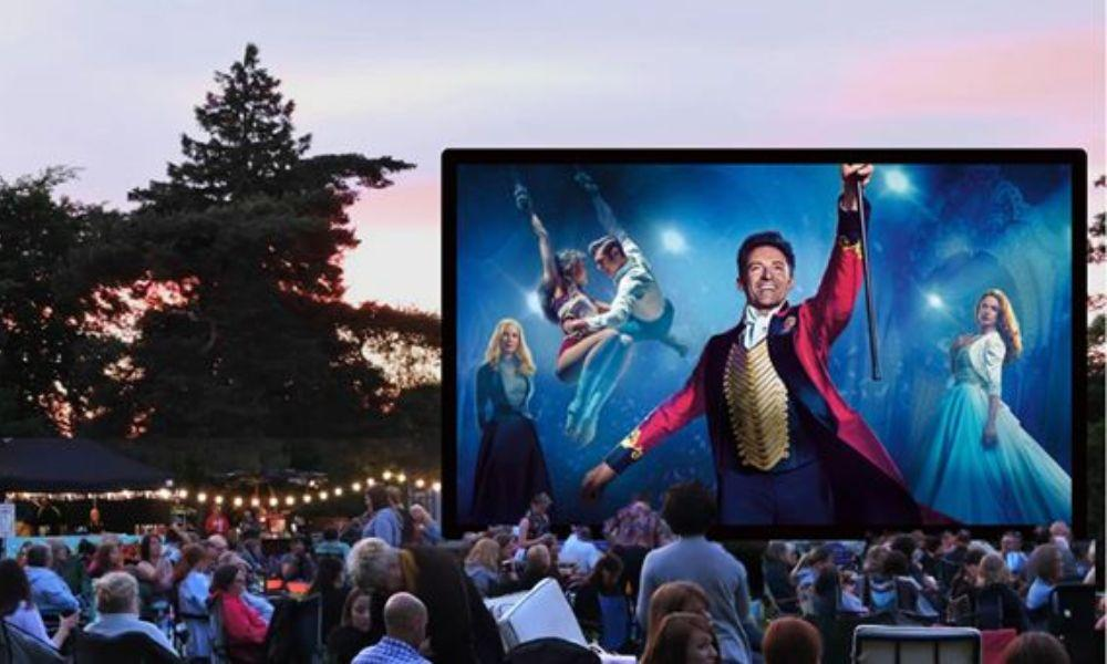 The Greatest Showman Outdoor Cinema at The Corran Resort and Spa