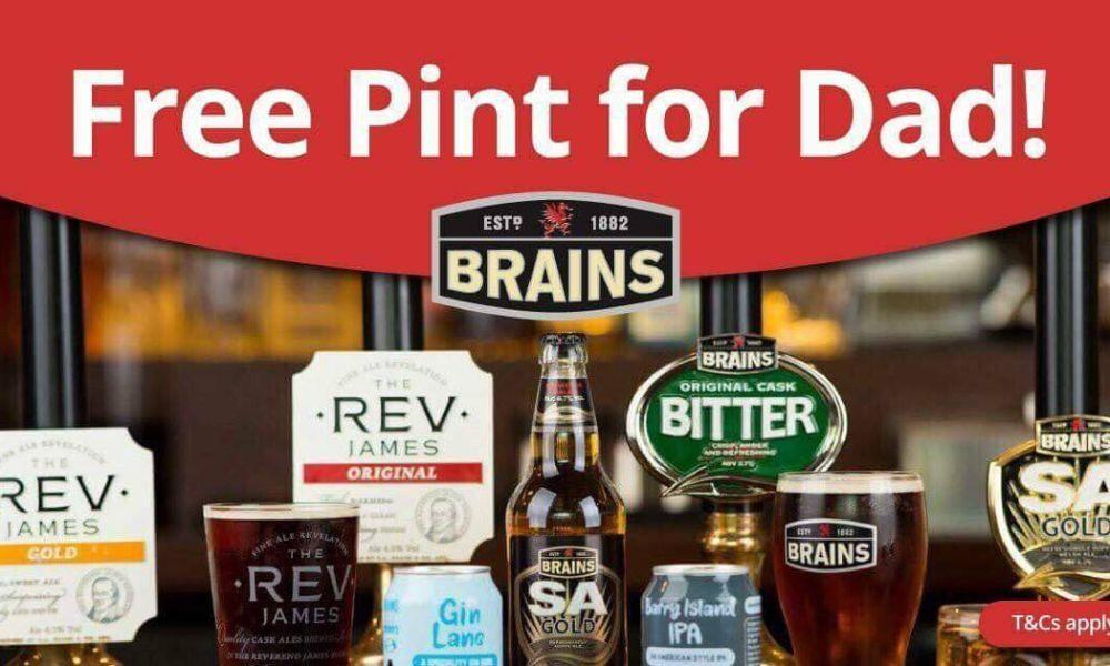 Father's Day Free Pint at Twelve Knights