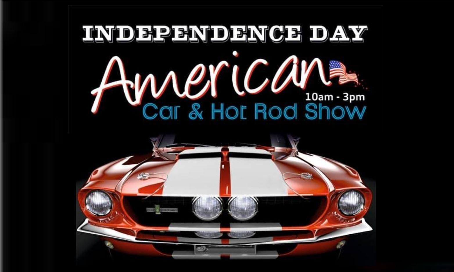 American Car and Hotrod Show at Swansea Bus Museum