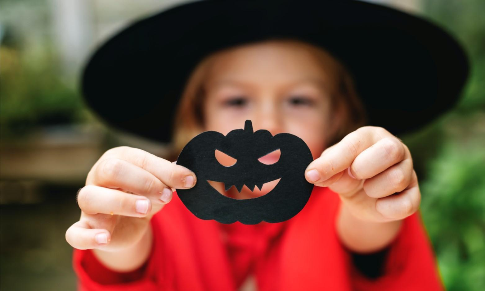 Creepy Crafts for Halloween at Townhill Library