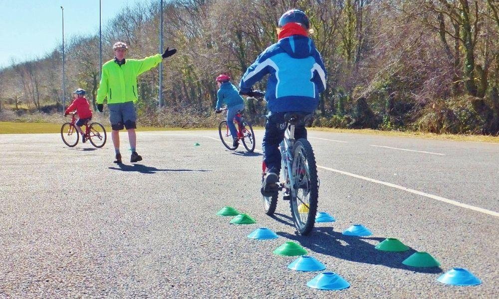 Cycle Skills for new riders at Bikeability Wales