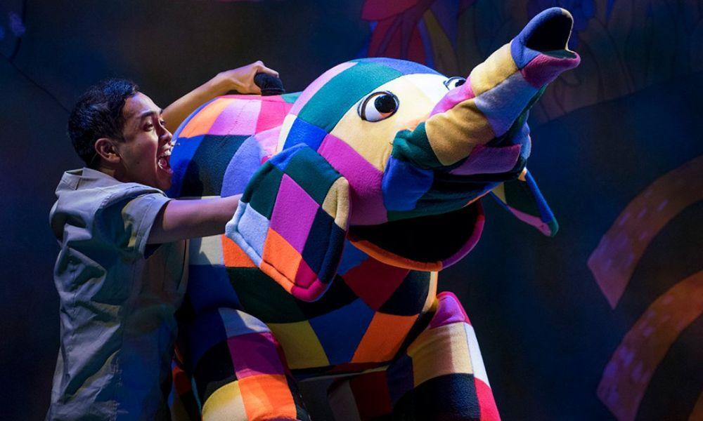 Elmer the Patchwork Elephant Live Show in Swansea