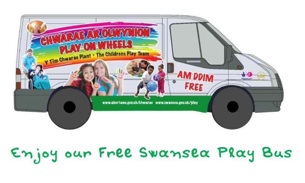 Swansea Play Bus at Upper Killay (additional needs)