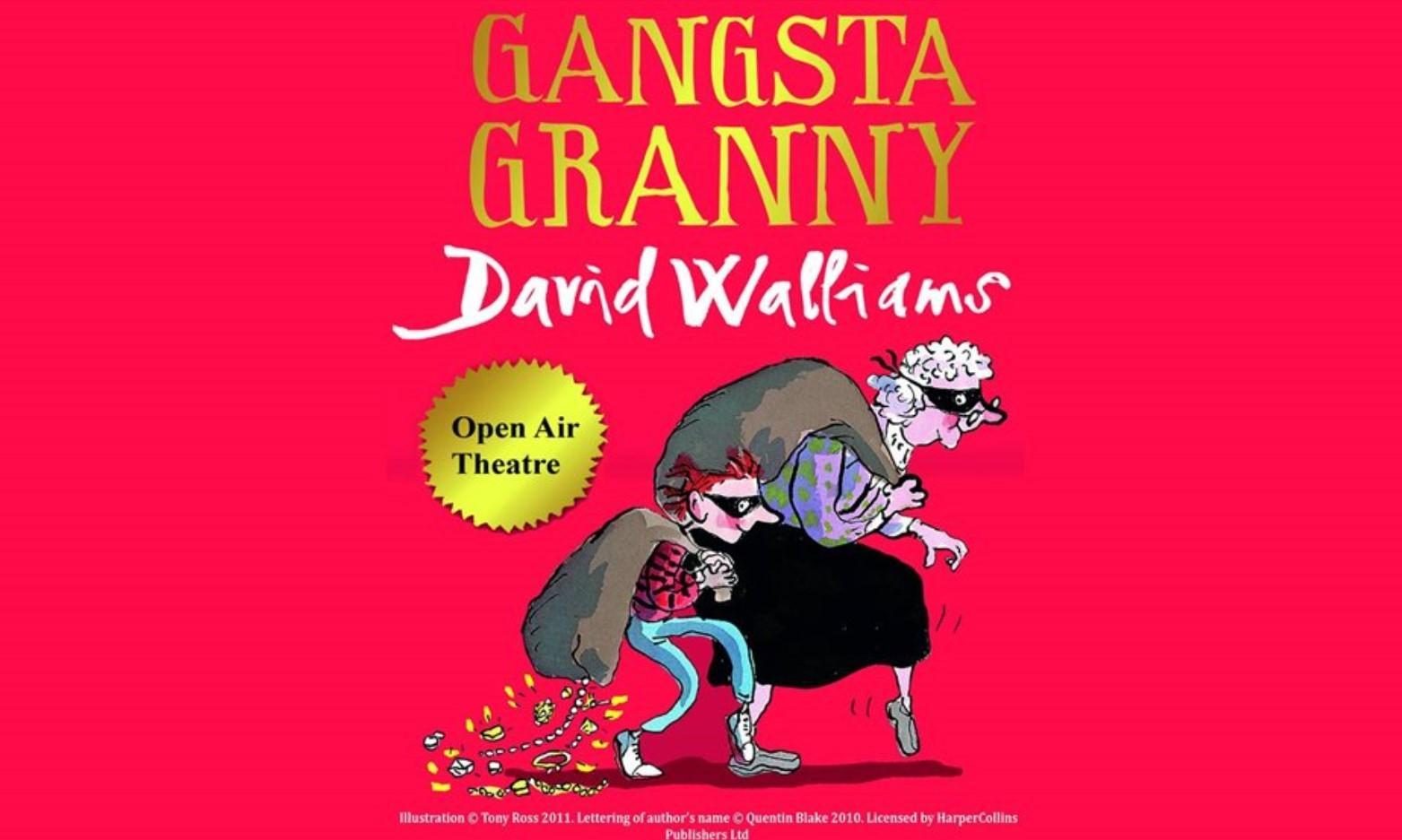 Gangsta Granny Outdoor Theatre at Oystermouth Castle