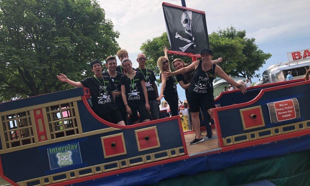 Interplay's Play Pirate Ship in Trallwyn