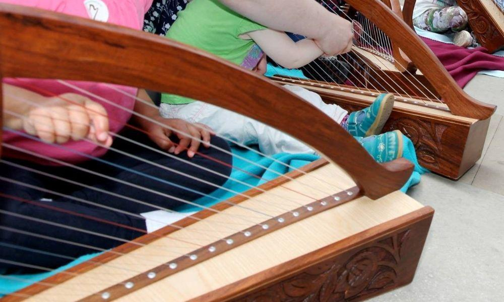 Lap Harp Workshop in Swansea