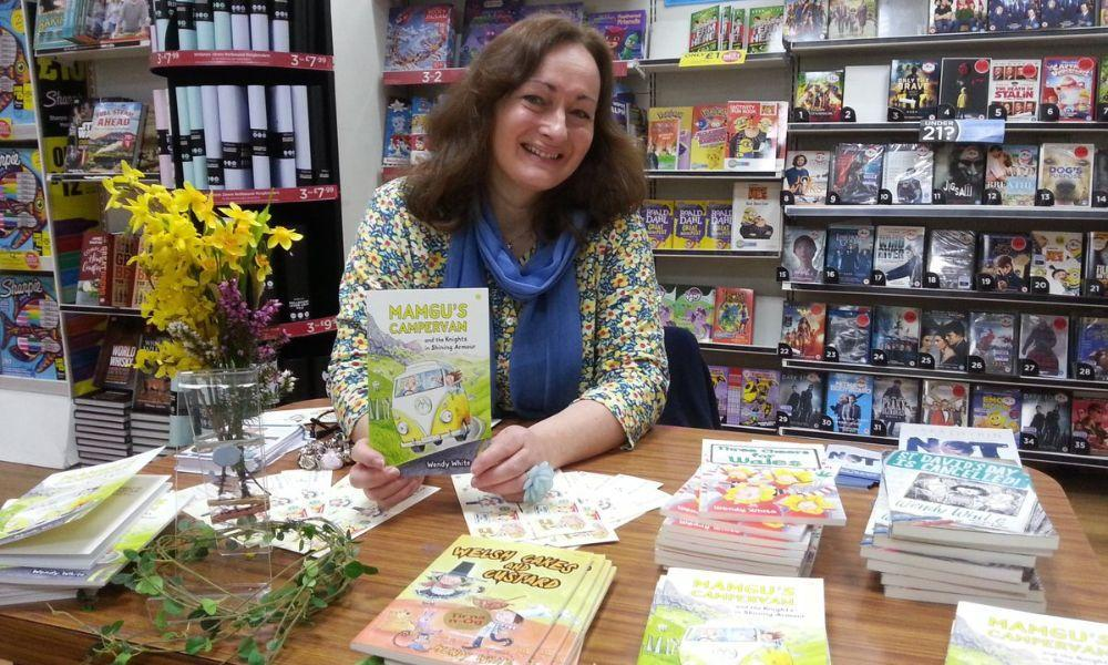 Mamgu's Campervan Book Signing at Swansea Cover to Cover