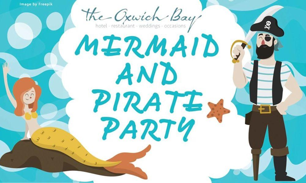 Mermaid and Pirate Party at Oxwich Bay Hotel
