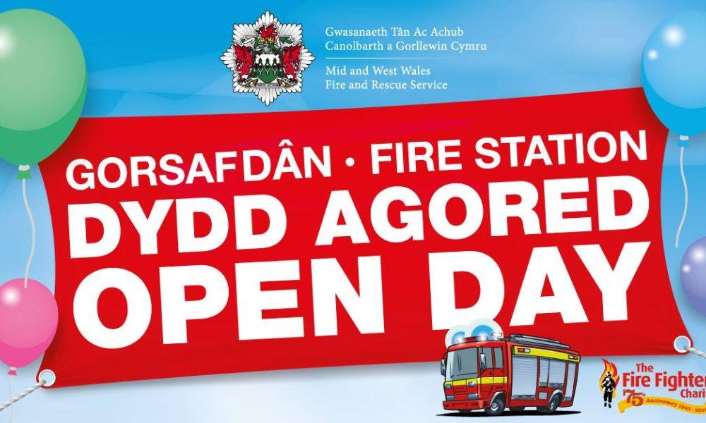 Ammanford Fire Station Open Day