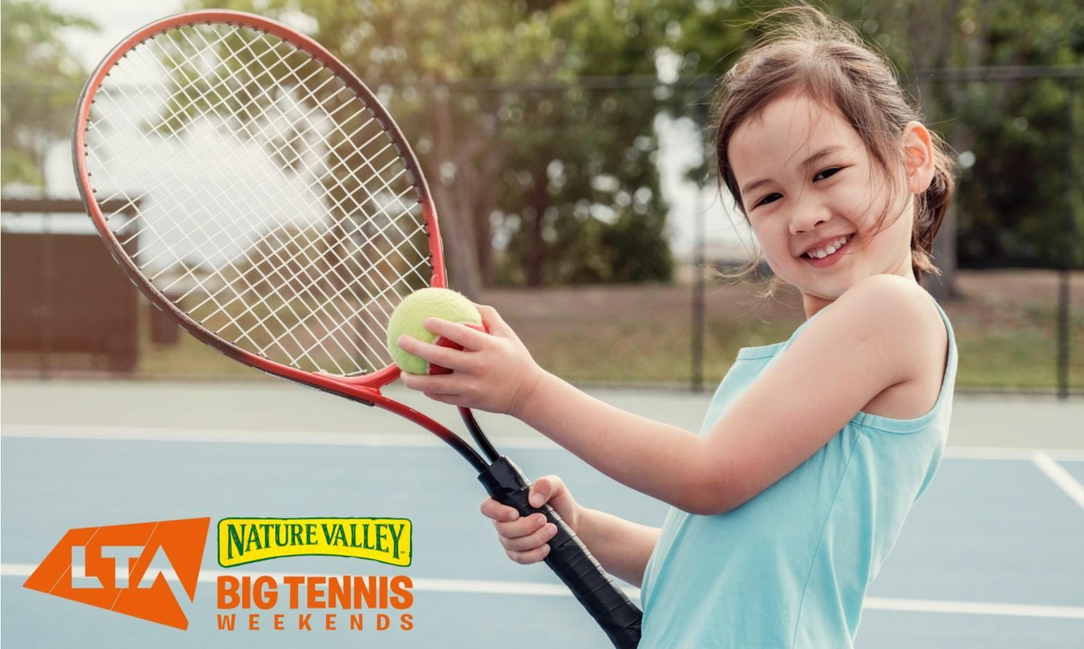Free Tennis in West Wales with Nature Valley Big Tennis Weekend