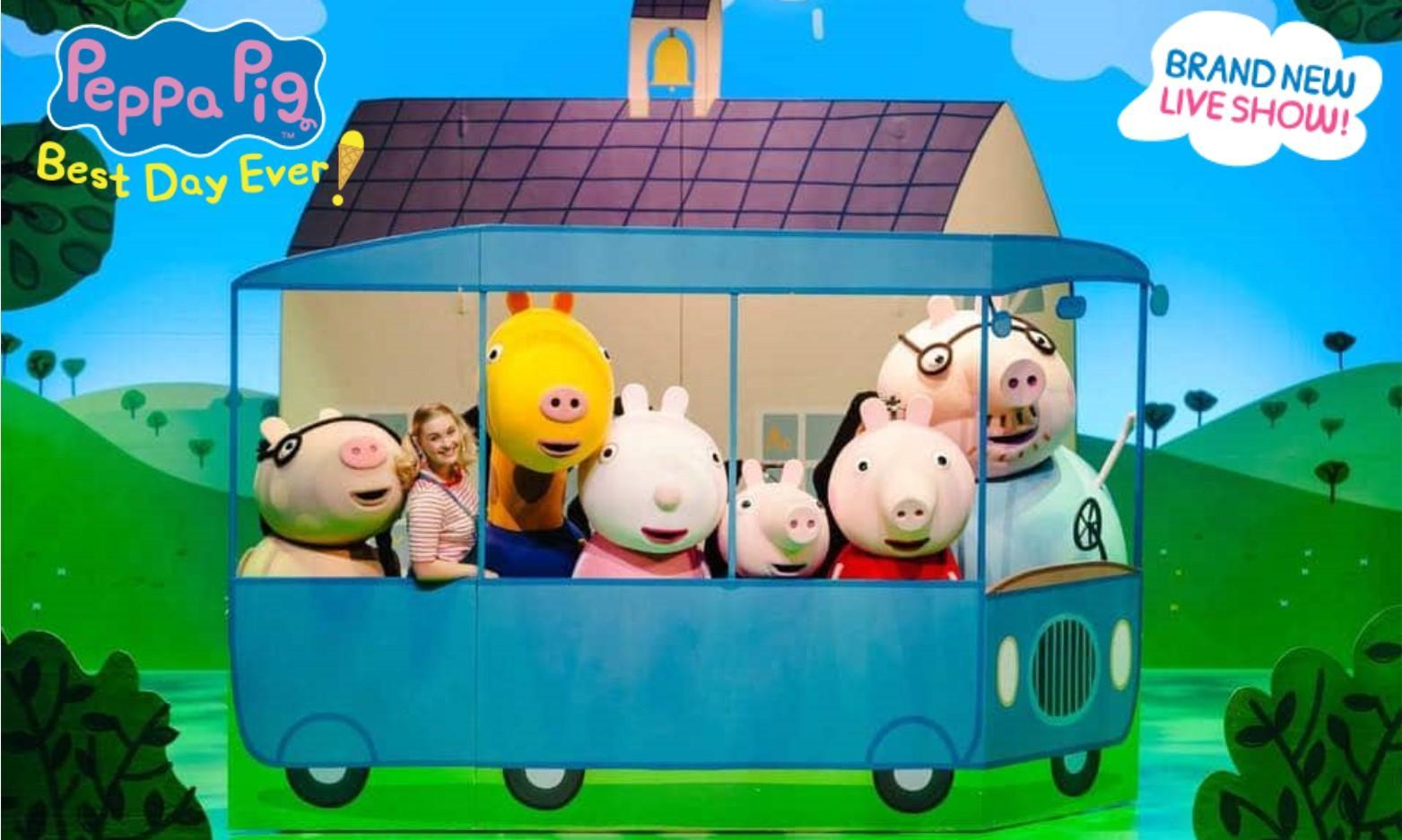 Peppa Pig Best Day Ever at Swansea Grand Theatre