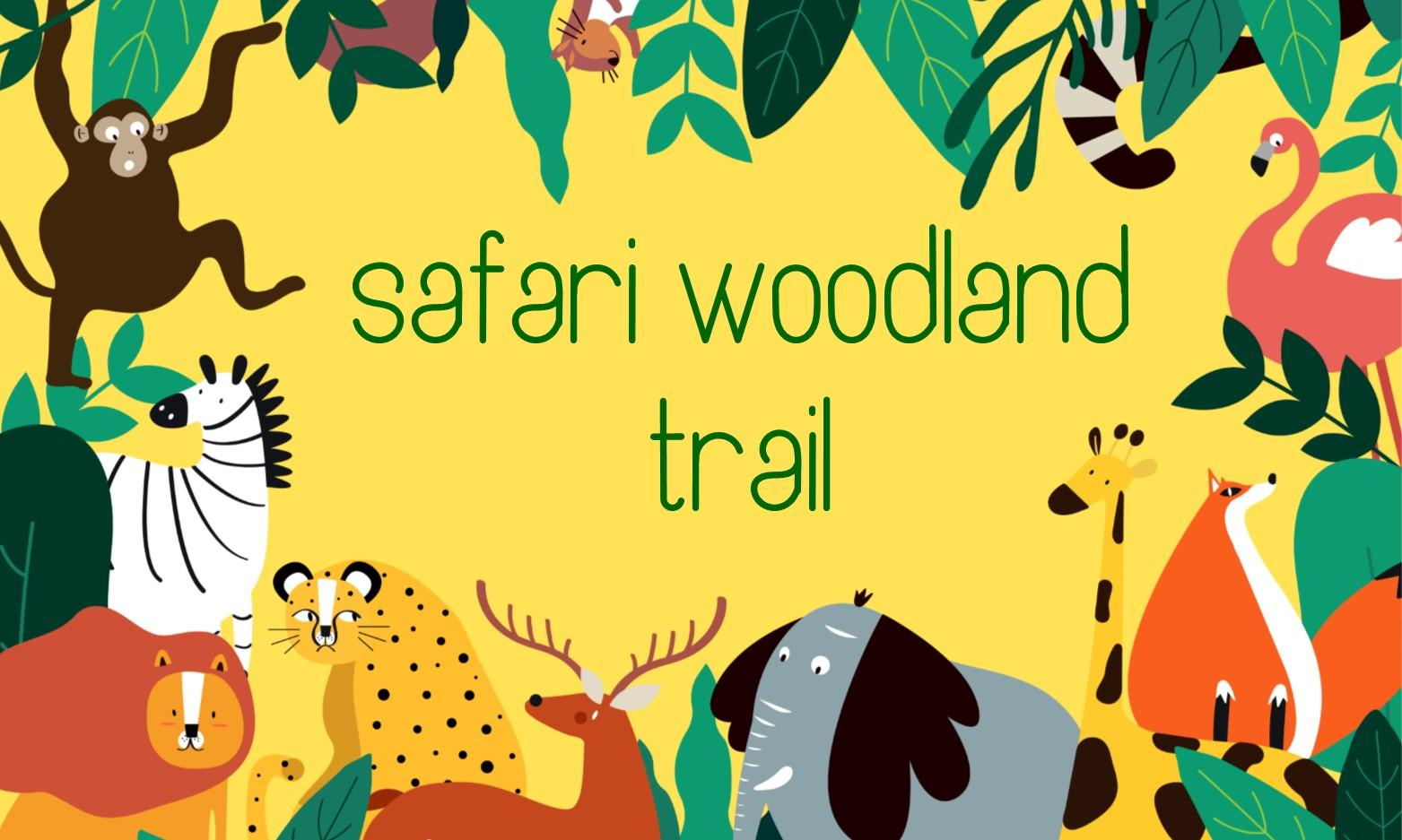 Safari Woodland Trail at RSPCA Llys Nini in Swansea