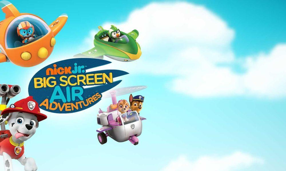 Special Offer on Nick JR. Air Adventures at Vue Swansea