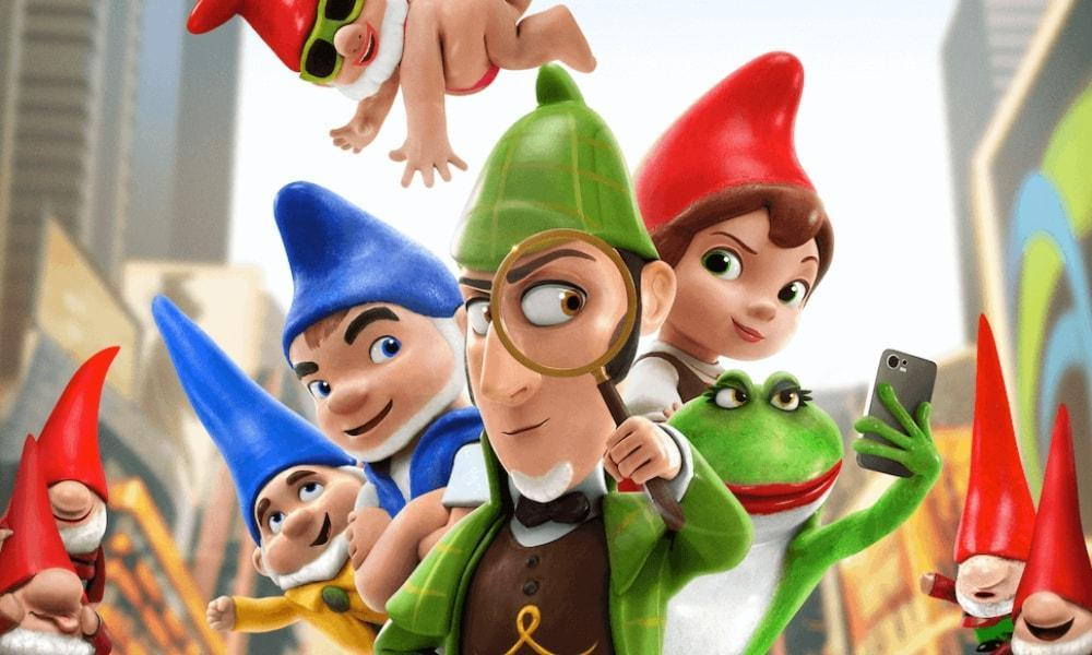 Special Offer on Sherlock Gnomes at Odeon Swansea