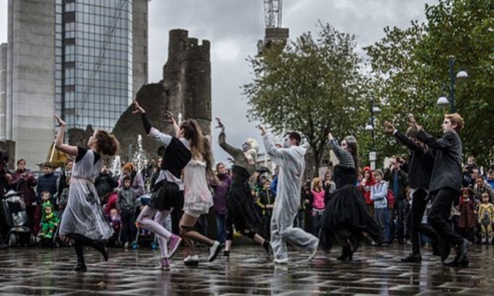 Spooks in the City Swansea Monsters' Ball