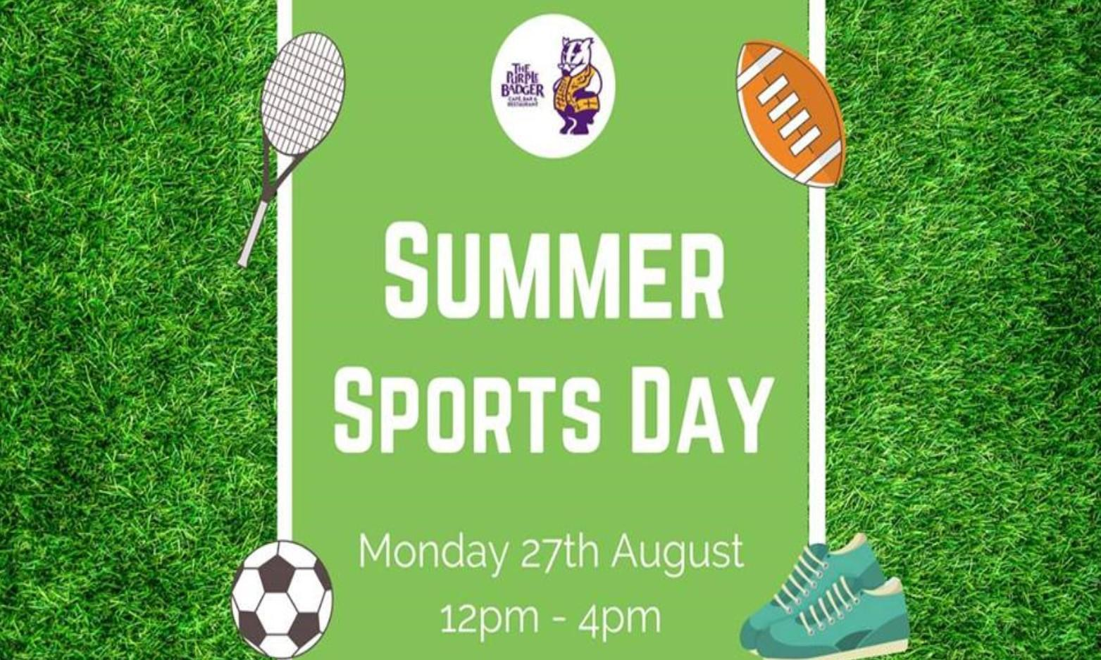 Summer Sports Day at Purple Badger