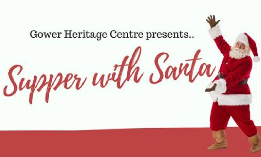 Supper with Santa at Gower Heritage Centre