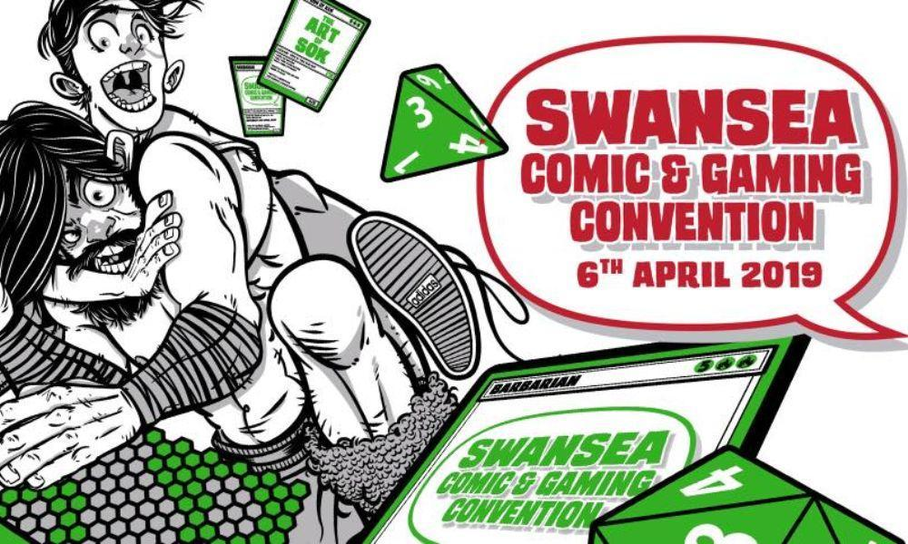 Swansea Comic and Gaming Convention 2019