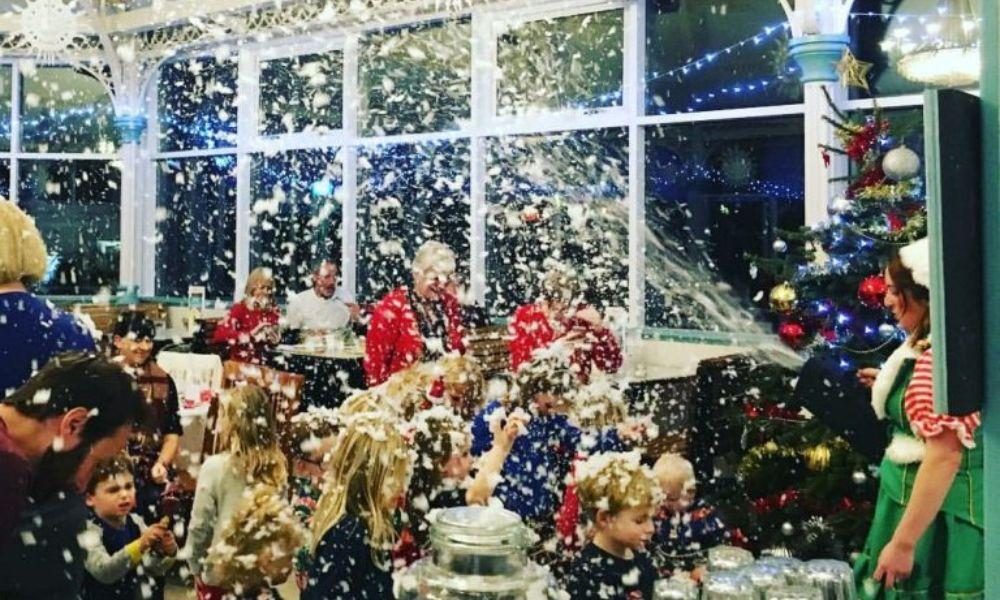 Tea Party with Father Christmas at Mumbles Pier