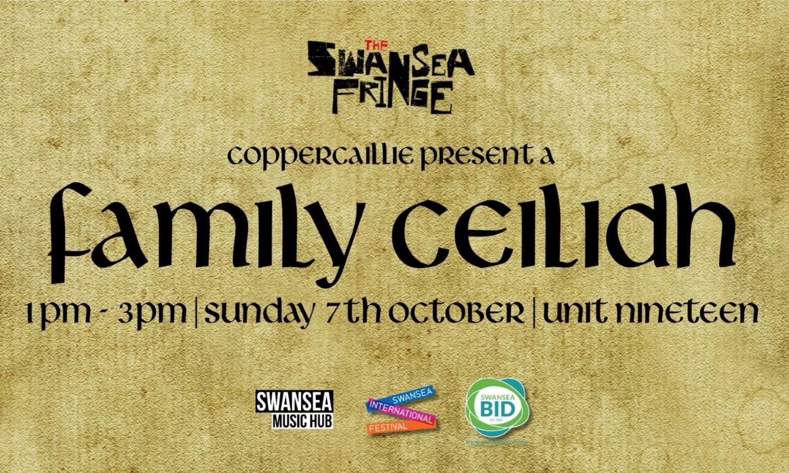 The Swansea Fringe: Family Ceilidh