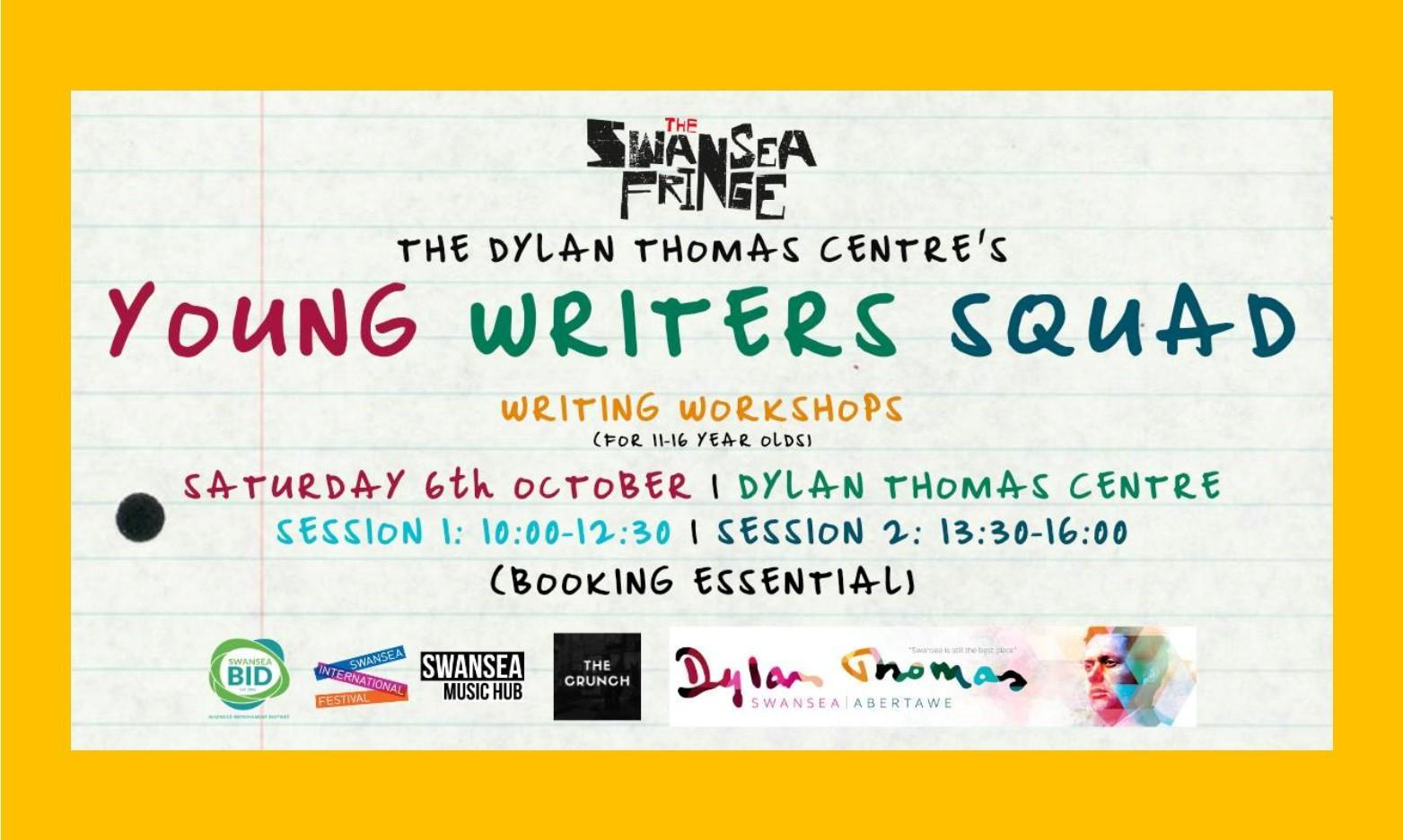 The Swansea Fringe: Young Writers Squad