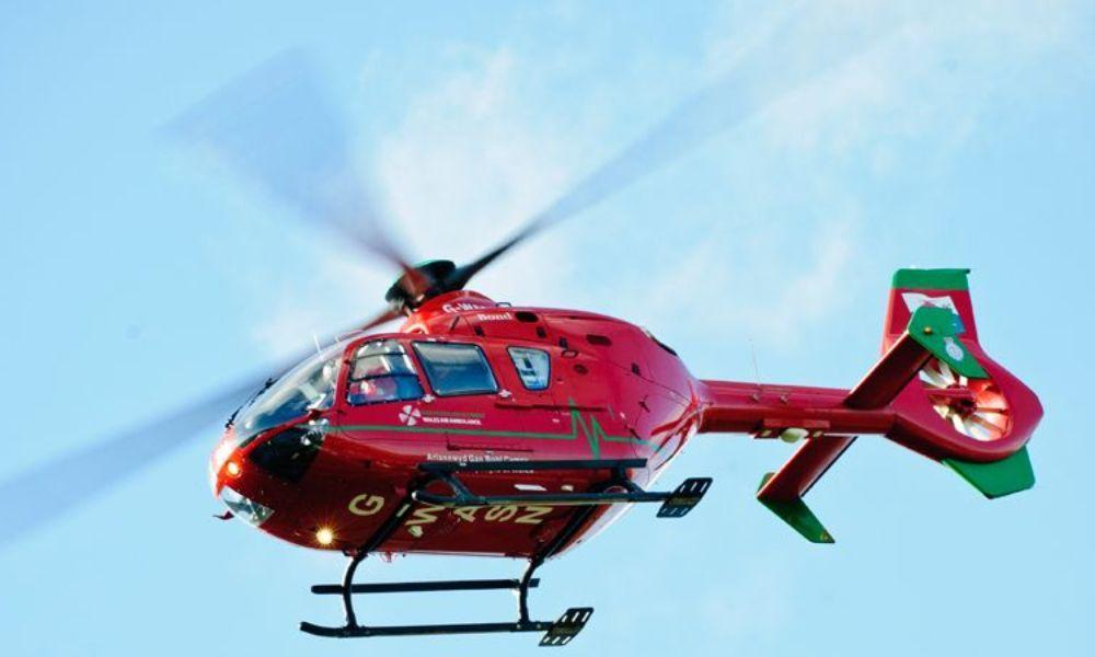 Welsh Air Ambulance Fun Day in Gorseinon