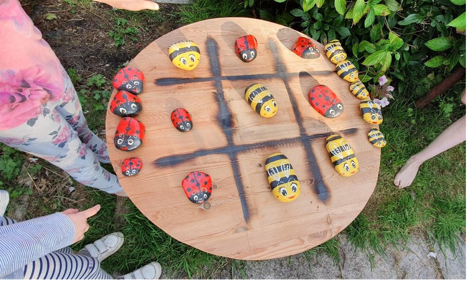 How to Make a Ladybird and Bumblebee Kids Game for Garden