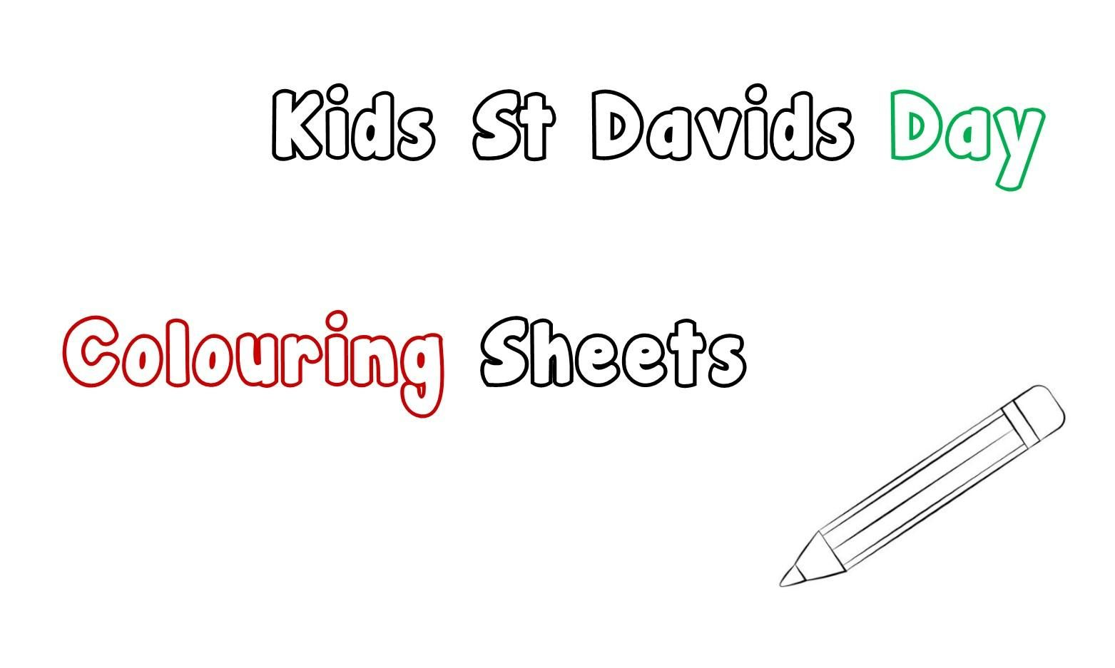 Printable St David's Day Colouring Sheets for the Kids